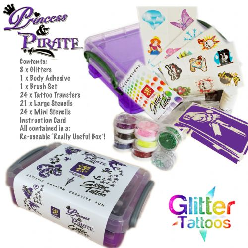 Princess & Pirate Glitter Kit